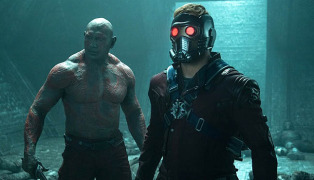 Marvel's Guardians Of The GalaxyL to R: Drax the Destroyer (Da