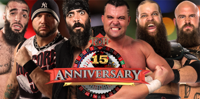 Image result for roh 15th anniversary